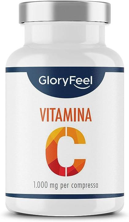 Vitamina c 1000mg ad alto dosaggio, 200 compresse vegan (6 mesi) B073GSMPNW