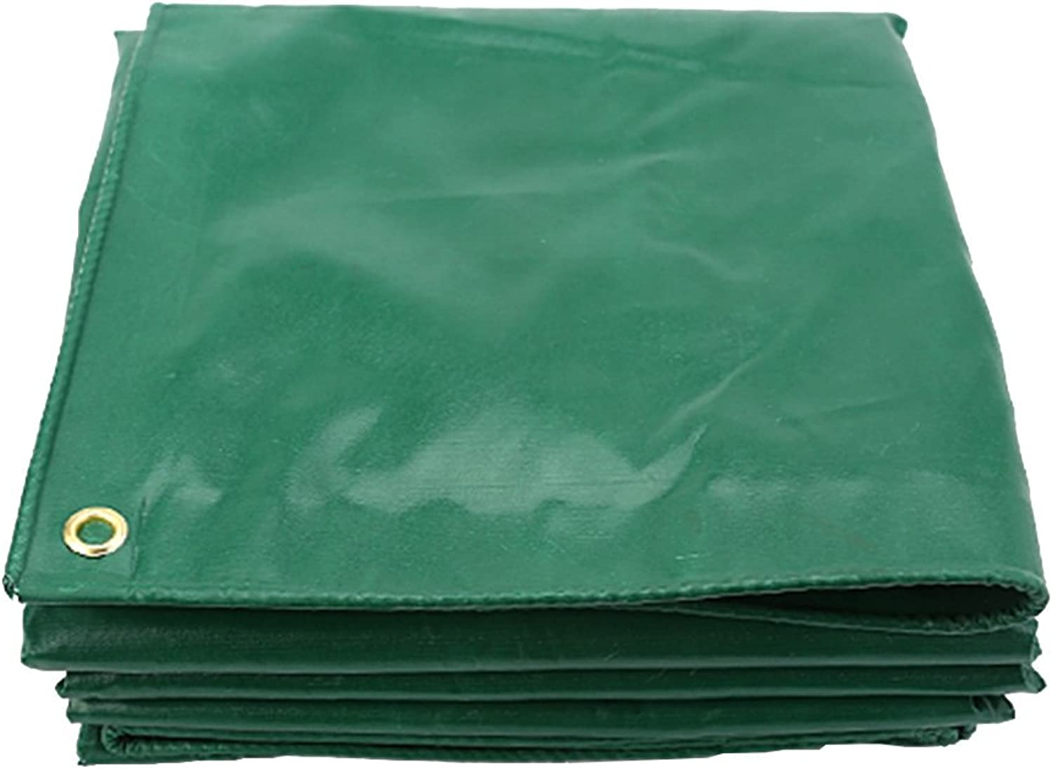 LIANGLIANG Tarpaulin Waterproof Outdoor Rainproof Shading Durable Foldable Tarpaulin with Metal Hole Eye PVC Plastic, 11 Sizes