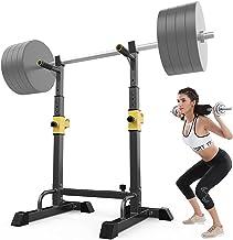 Squat Rack Multifunctionele Barbell Rack Hoogte Verstelbare Dip Stand Thuis Gym Gewichtheffen Bench Druk Dip Station Push ...
