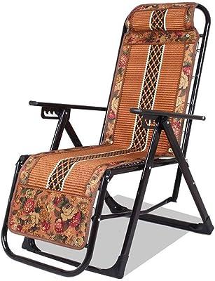 Amazon.com: QIDI - Silla plegable de madera de bambú (37.8 ...