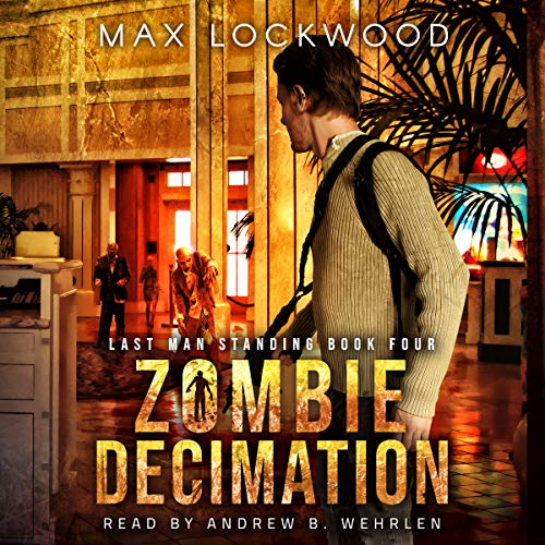 Zombie Decimation audiobook cover art
