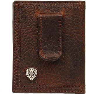 Ariat Men's Money Clid Bifold Wallet Brown Size One Size