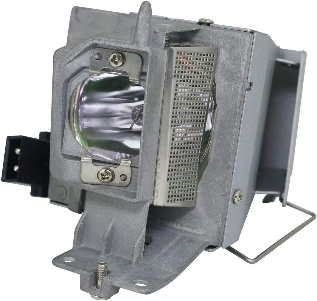 PHO 725-BBDJ Genuine Original Replacement Bulb/Lamp with Housing for Dell 1450 Projector (OEM Osram Bulb)