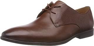 Clarks Men's Bampton Walk British Tan Lea Formal Shoes