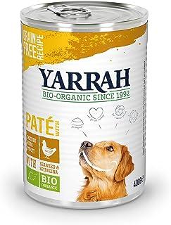 YARRAH Nourriture pour Chien Humide - pour toutes les races et tous les âges   Pâté biologique exquis au poulet et aux alg...