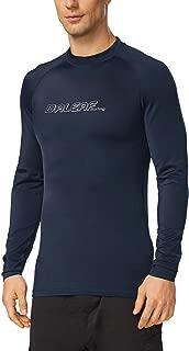 Baleaf Men's Long Sleeve Rashguard Sun Protective Swim Shirt UPF 50+