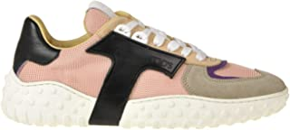Luxury Fashion | Tod's Women MCGLCAK0000F8067I Pink Fabric Sneakers | Season Outlet