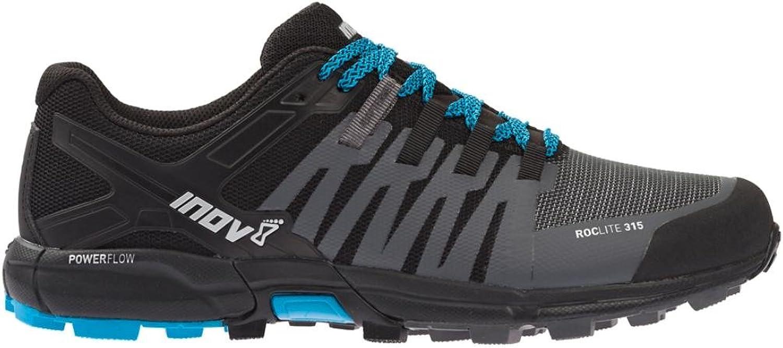 Inov8 Roclit 315 Mens STANDARD FIT FIT FIT -Trail Running skor grå  svart  blå UK 8.5  autentisk online