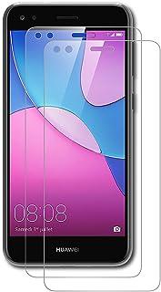 AICEK [2-pack] Huawei Y6 Pro 2017 skärmskydd, premium härdat glas skärmskydd för Huawei Y6 Pro 2017 9H hårdhet och enkel b...