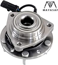 MAYASAF 513124 Front Wheel Hub & Bearing Assembly 5 Lugs w/ABS for Chevy S10/S10 Blazer/S10 Pickup 4WD, Gmc Envoy/Jimmy S-15/S-15 Pickup/S-15 Sonoma 4WD, Isuzu Hombre, Olds Bravada