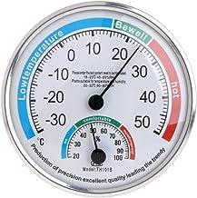 A0127 - Termómetro e higrómetro analógico para uso doméstico