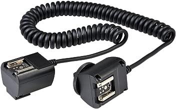 Godox TTL Off Camera Hot Shoe Flash Sync Cable Cord for Canon Speedlite + CEARI Microfiber Clean Cloth