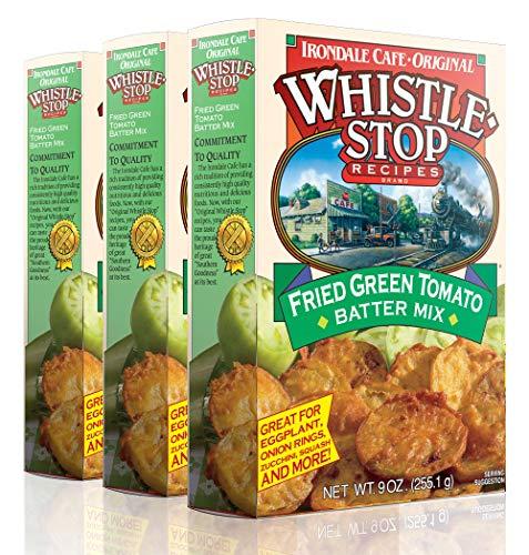 Original WhistleStop Cafe Recipes | Fried Green Tomato Batter Mix | 9-oz | Case of 3