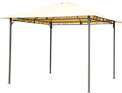Cenador de jardín de 3 x 6 m, resistente al sol y a la lluvia con ...