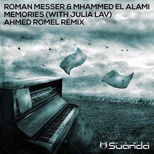Roman Messer & Mhammed El Alami with Julia Lav
