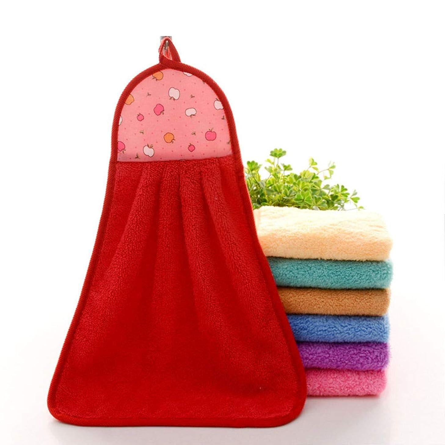 Maxcrestas - ホテルトラベルアクセサリー用の布乾燥パッドフェイスタオルをぶら下げ太いマイクロファイバーキッチン浴室ハンドタオルソフト吸収