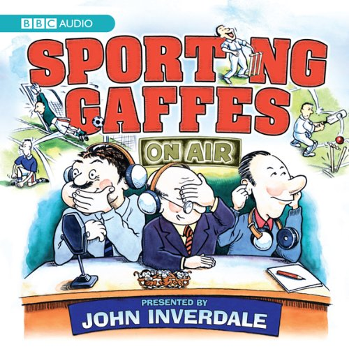 Sporting Gaffes audiobook cover art
