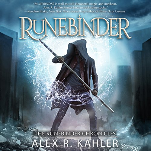 Runebinder audiobook cover art