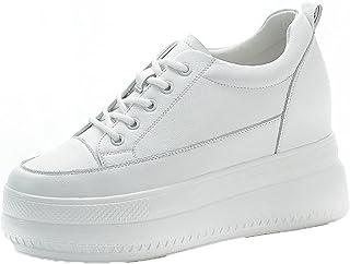 Generic7 Femmes Baskets Couleur Unie Respirant Bas Chaussures décontractées Talon compensé caché Chaussures à Plateforme à...