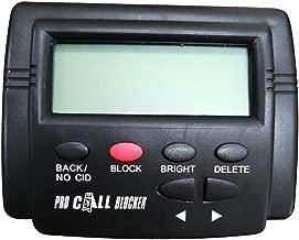 MonkeyJack Pro Incoming Call Blocker Telephone Defense with LCD Display 1500 Blacklist Numbers
