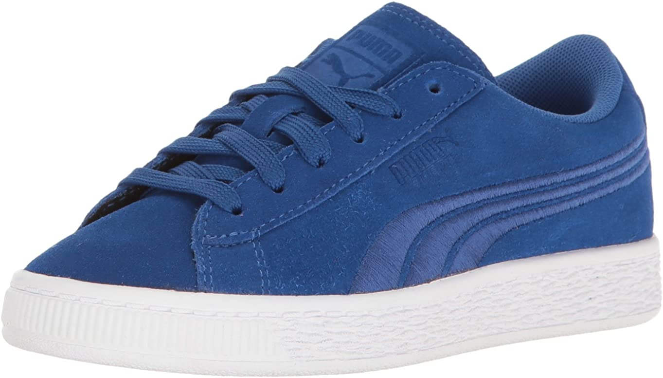 PUMA Kids Suede Classic Badge Jr Sneaker