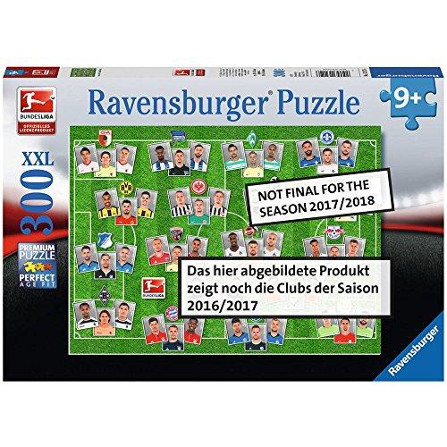 Ravensburger 13239 Bundesliga 2017/2018 Kinderpuzzle