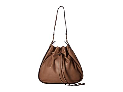 Frye Ilana Hobo (Taupe) Hobo Handbags