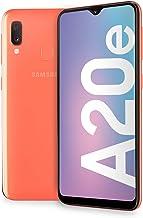 "Samsung Galaxy A20e Smartphone, Display 5.8"" HD+, 32 GB Espandibili, RAM 3 GB, Batteria 3000 mAh, 4G, Dual SIM, Android 9 Pie, [Versione Italiana], Coral"