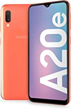 "Samsung Galaxy A20e Display 5.8"", 32 GB Espandibili, RAM 3 GB, Batteria 3000 mAh, 4G, Dual SIM Smartphone, Android 9 Pie, (2019) [Versione Italiana], Coral"