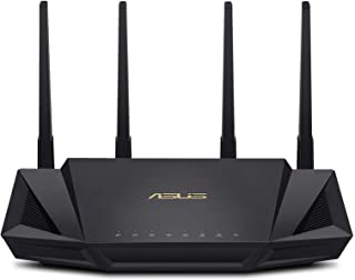 ASUS WiFi 6 Router (RT-AX3000) - Dual Band Gigabit Wireless Internet Router, Gaming & Streaming, AiMesh Compatible, Free L...