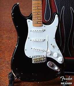 Mini Guitar Eric Clapton Collectible Vintage Blackie Fender Strat Guitar Replica
