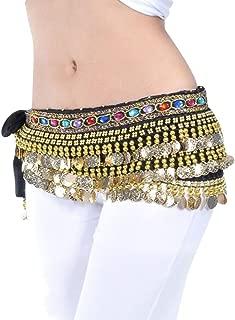 Belly Dance Cintura Velo Danza del Ventre Costume a Triangolo Bellydance Belt