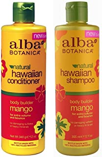 Alba Botanica Alba botanica, natural hawaiian shampoo and conditioner, mango, 12-ounce bottle