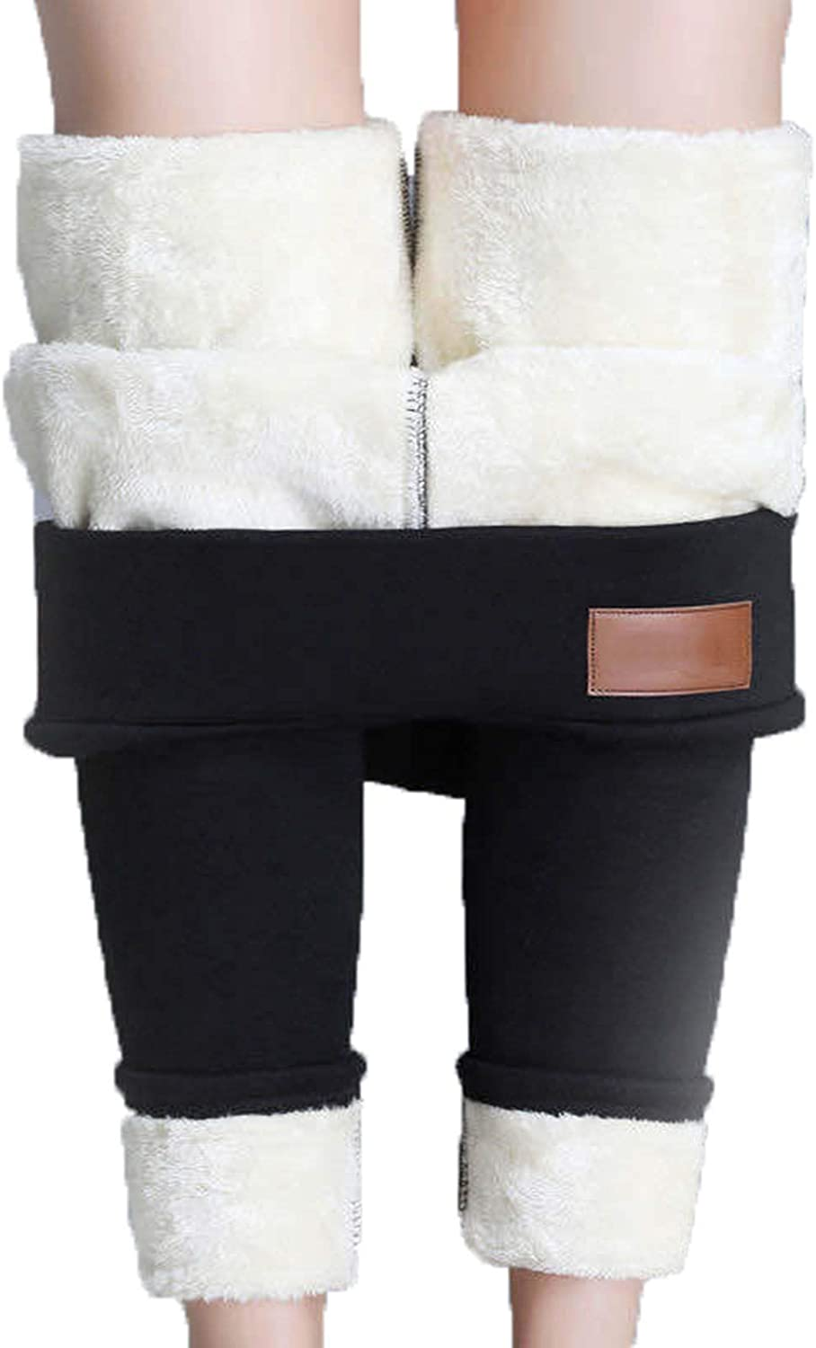 Super Thick Cashmere Leggings Trousers Finally Max 43% OFF resale start Winter Warm A Waist High