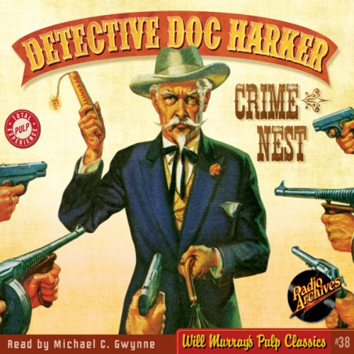 Detective Dime Novels, #1 audiobook cover art