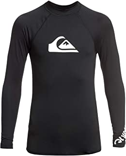 Quiksilver Kid's All Time-Long Sleeve UPF 50 Rash Vest L/sl Surf Tee