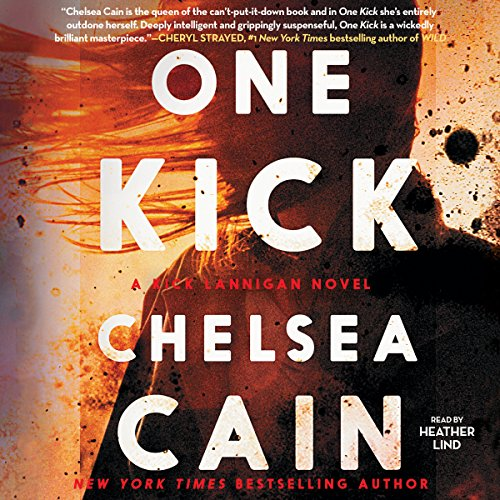 One Kick audiobook cover art