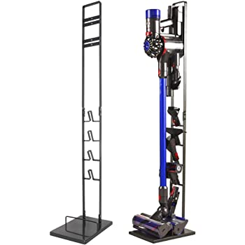 ATCD Soporte de Suelo para Dyson, Soporte de Almacenamiento para Aspiradora Dyson V10 V8 V7 V6, Soporte para Aspirador Dyson con Cepillo Kit de Accesorios Almacenamiento Shelf: Amazon.es: Hogar