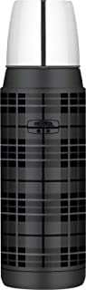 Thermos Stainless Steel Vacuum Insulated Flask, 470ml, Grey Plaid, H2000GP6AUS