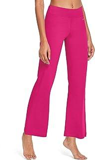 Baleaf Women's Yoga Bootleg Pants Inner Pocket