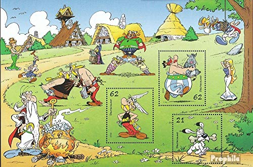 FRD (FR.Germany) block80 (Complete.Issue.) 2015 Asterix (Stamps for Collectors) Comics
