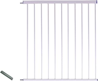 Syga Baby Safety Gate Extension (80cm, White)