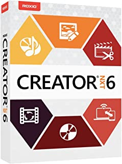 Roxio Creator NXT 6 Complete CD/DVD Burning and Creativity Suite for PC (Old Version)