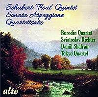 Schubert: Trout Quintet; Sonata Arpeggione; Quartettsatz by Sviatoslav Richter