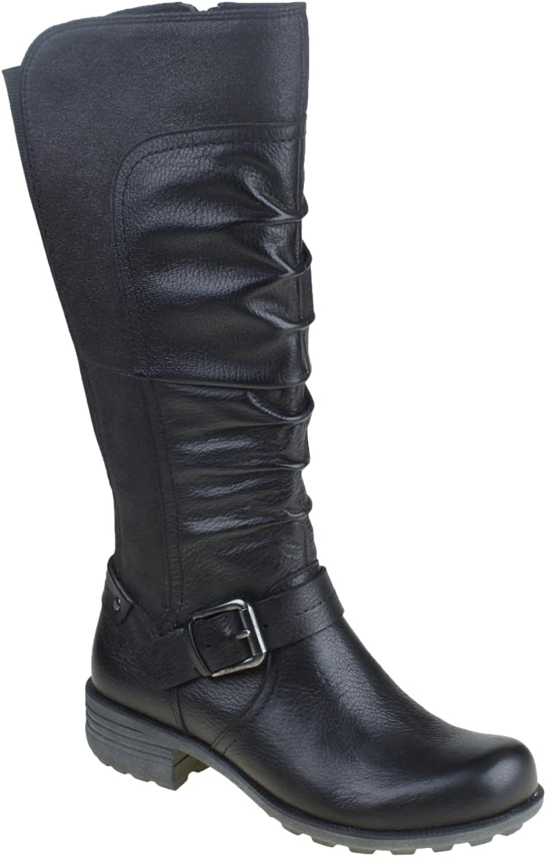 Jord Poppy läder läder läder Boot svart  shoppa nu