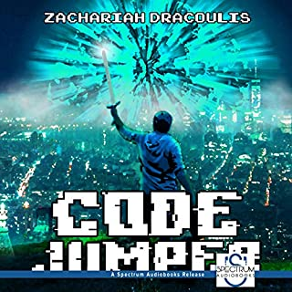 Code Jumper: A GameLit Novel audiobook cover art