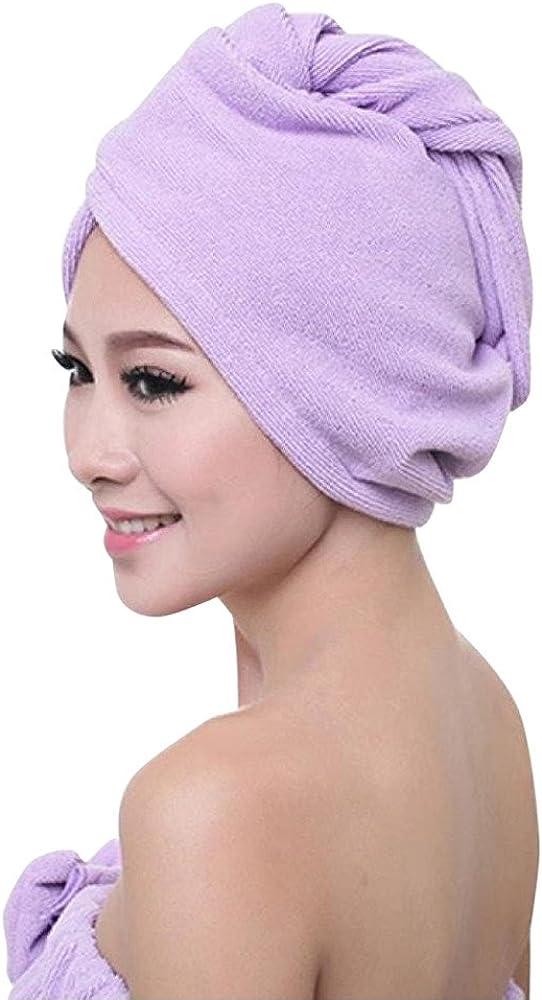 VEKDONE Unisex Womens Indianapolis Mall Nashville-Davidson Mall Hair Wrap Towel Microfib Drying