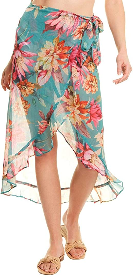 La Baltimore Mall Blanca Women's Wrap Ruffle Swimsuit Pareo Up 2021new shipping free shipping Cover
