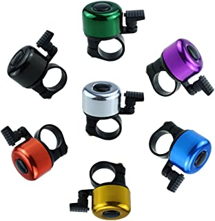 ISusser 7 Set Colorful Bicycle Bike Handlebar Bell Ring (7 colors)