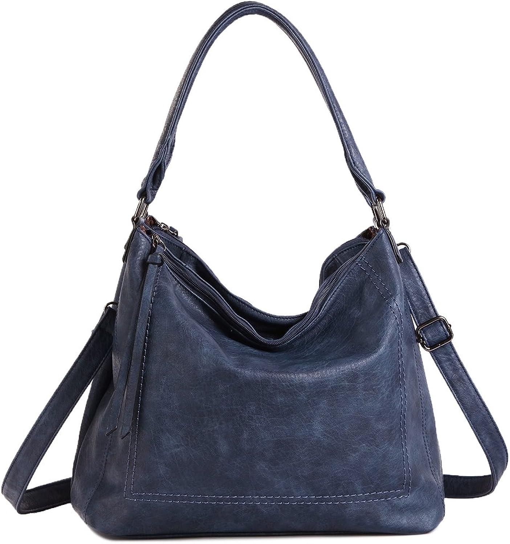 UTAKE Women Handbags Shoulder Tote TopHandle Crossbody Bags PU Leather Purse